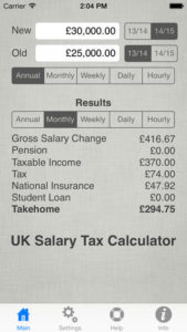 UK Salary Calculator