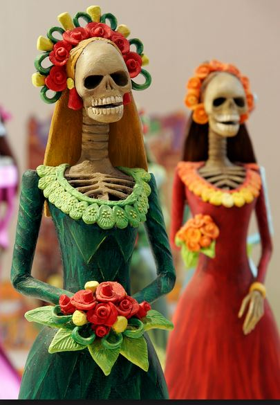 Day of the Dead. Not as scary as it sounds...