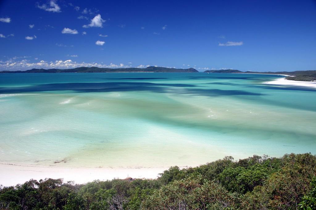 Whitehaven Beach, voted by TripAdvisor as Australia's best beach.