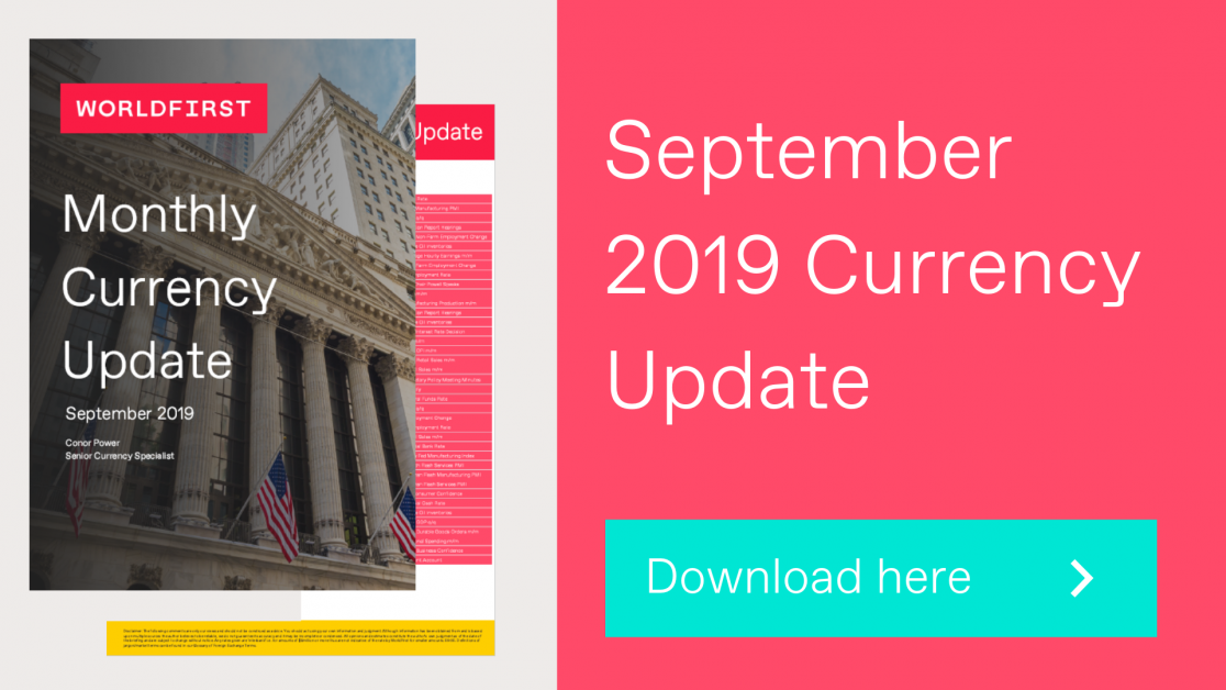 September Currency Update 2019