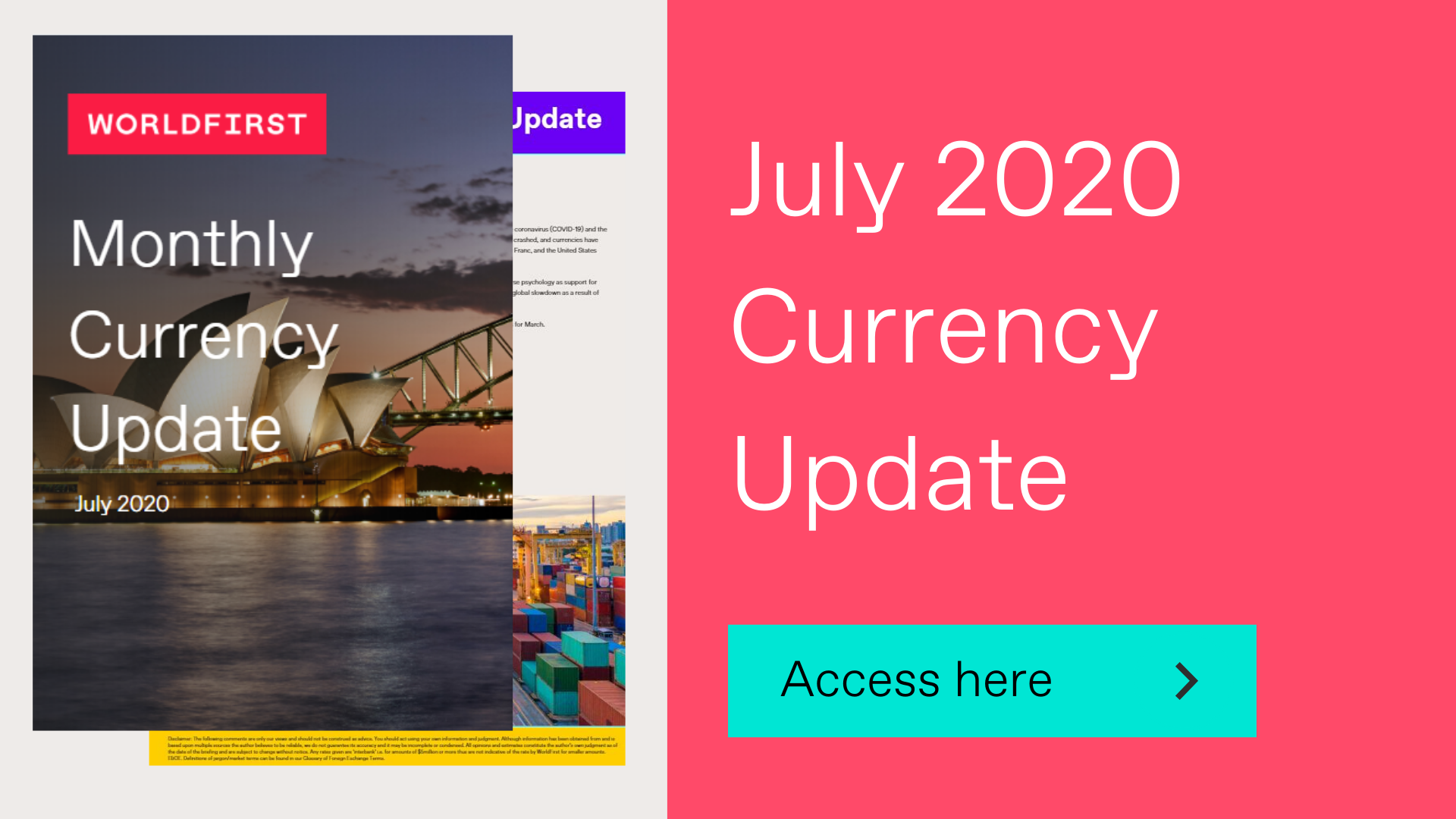 July 2020 Currency Update ClickThrough Banner