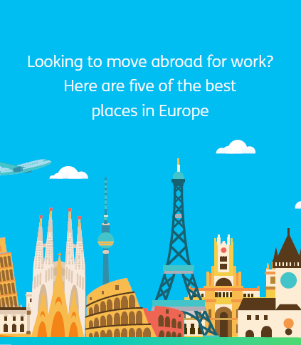 5 best places to work in Europe