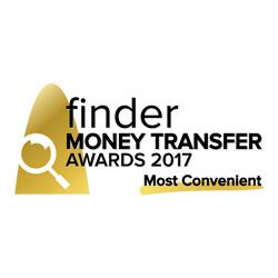 Finder Money Transfer awards 2017
